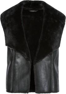 Czarna kamizelka bonprix bpc selection w stylu casual