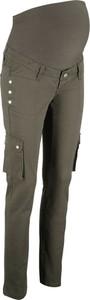 Zielone jeansy bonprix bpc bonprix collection