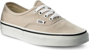 Tenisówki vans - authentic vn0a38emqa3 silver lining/true white