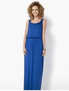 Niebieska sukienka Meleksima
