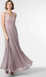 Sukienka Vera Mont Collection z dekoltem w kształcie litery v maxi na ramiączkach