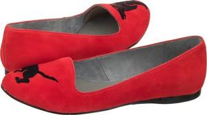 Baleriny maciejka czerwone 03589-08/00-5 (ma320-e)