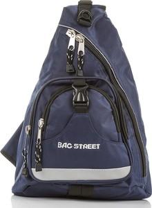 Granatowy plecak męski Bag Street z tkaniny