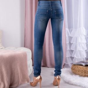 Jeansy Royalfashion.pl z jeansu w stylu casual