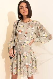 Sukienka SELFIEROOM w stylu casual rozkloszowana mini