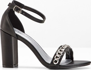 Sandały bonprix bpc selection w stylu casual na wysokim obcasie