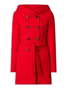 Czerwony płaszcz S.Oliver Red Label w stylu casual