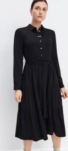 Sukienka Mohito z długim rękawem midi
