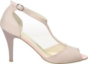 Sandały Darbut w stylu klasycznym ze skóry