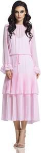 Sukienka Lemoniade z długim rękawem w stylu boho