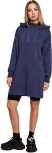 Sukienka MOE w stylu casual z dresówki