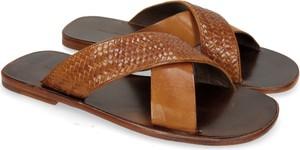 Brązowe buty letnie męskie Melvin & Hamilton ze skóry
