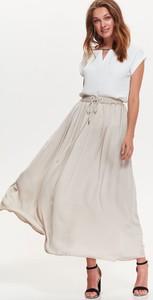 Różowa spódnica Top Secret z tkaniny w stylu casual