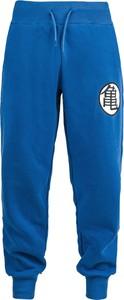 Niebieskie spodnie Dragon Ball Z