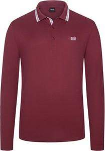 Czerwona bluza Boss z bawełny