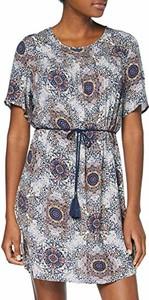Sukienka amazon.de z okrągłym dekoltem mini z krótkim rękawem