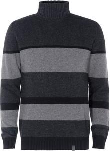 Sweter Ochnik w stylu casual z golfem z wełny