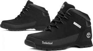 Buty trekkingowe Timberland sznurowane w sportowym stylu ze skóry