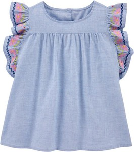 Niebieska bluzka dziecięca OshKosh