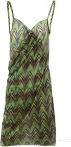 Sukienka Dedra na ramiączkach w stylu casual z dekoltem w kształcie litery v