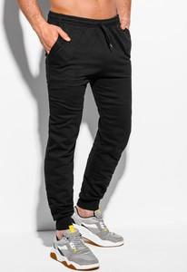 Czarne spodnie sportowe Edoti