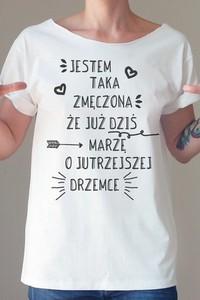 T-shirt ONE MUG A DAY z krótkim rękawem