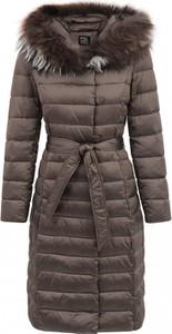 Brązowa kurtka Pregio Couture
