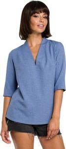 Bluzka Merg z dekoltem w kształcie litery v