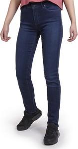 Niebieskie jeansy Wrangler w stylu casual z bawełny