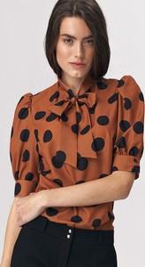 Brązowa bluzka Nife