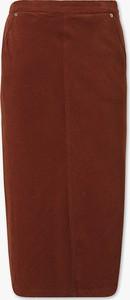 Spódnica YESSICA midi z bawełny