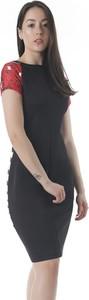 Czarna sukienka Joseph Ribkoff mini ołówkowa
