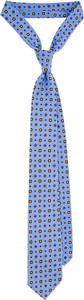 Niebieski krawat LANCERTO