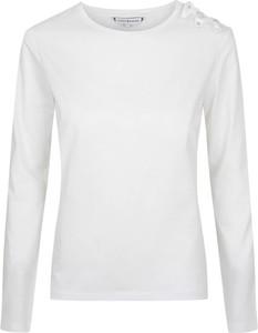 Bluzka Tommy Hilfiger z bawełny z długim rękawem