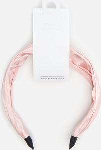 House - Opaska na włosy z wiązaniem - Różowy