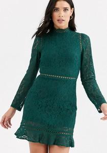 Zielona sukienka Fashion Union