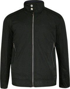 Czarna kurtka Zanardi Trade z bawełny