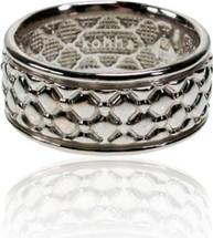 Kohha Obrączka srebrna Chesterfield White