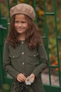 Zielona sukienka dziewczęca Miss Melody
