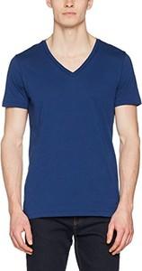 Granatowy t-shirt BOSS Casual