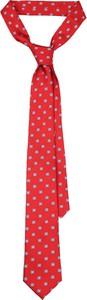 Czerwony krawat LANCERTO