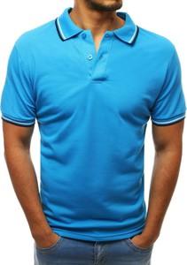 Koszulka polo Dstreet z krótkim rękawem w stylu casual