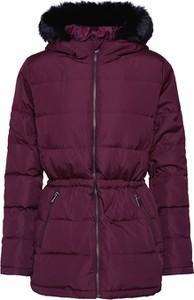 Fioletowa kurtka Gap krótka w stylu casual