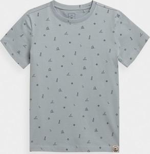 Koszulka dziecięca 4F z dzianiny z krótkim rękawem dla chłopców
