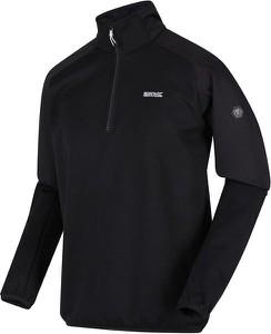 Czarna bluza Regatta z polaru w sportowym stylu