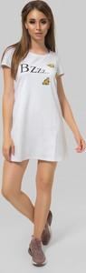 Sukienka producent niezdefiniowany z okrągłym dekoltem