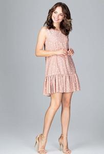 Różowa sukienka Katrus