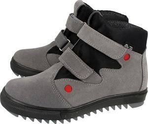 Buty dziecięce zimowe RenBut na rzepy