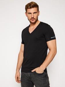 T-shirt Dsquared2 w stylu casual z krótkim rękawem