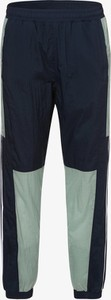 Zielone spodnie sportowe Adidas Originals z dresówki w sportowym stylu